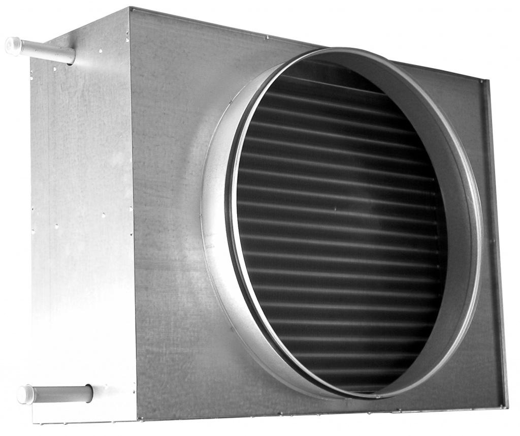 Värmefläkt vattenbatteri